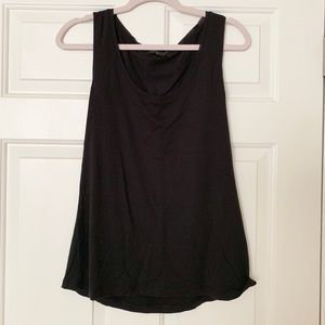 Simple Black Banana Republic Tank